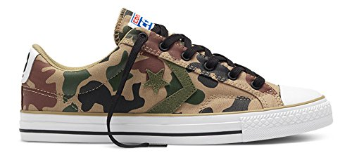 Converse Sneakers Star Player C151303, Scarpe da Ginnastica Basse Unisex-Adulto Multicolore