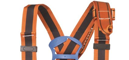 G-Force Elasticated 2 Point Full Body Height Safety Fall Arrest Protection Harness GFP-30E
