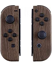 eXtremeRate Patterned Joycon Handheld Controller Housing with Full Set Buttons, DIY Replacement Shell Case for Nintendo Switch Joy-Con – Console Shell NOT Included