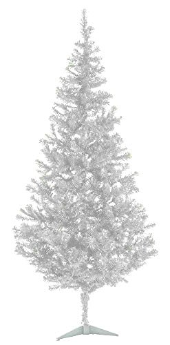 Tree Forest White Pixee Fir - 7 Ft Artificial Christmas tree (White Fir Trees)