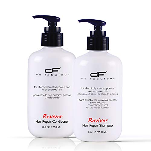 De Fabulous Reviver Hair Repair Shampoo & Conditioner (Combo Of 2)