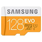 Samsung MB-MP128DA Micro SDXC 128GB Evo Memory Card With Adapter