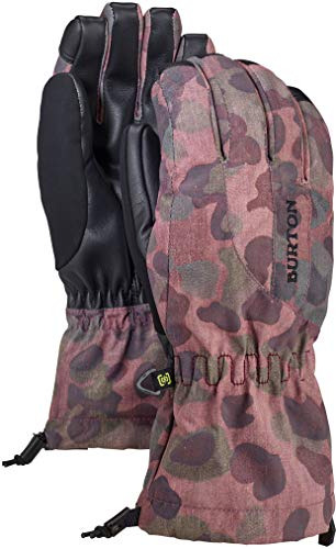 Burton Women's Insulated, Warm and Waterproof Winter Profile Glove with Touchscreen, Moss Camo, Medium