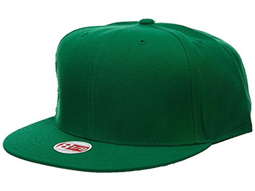 Mitchell&Ness Fitted Hat Mens Style: HAT272-DARK GREEN Size: 8 1/8