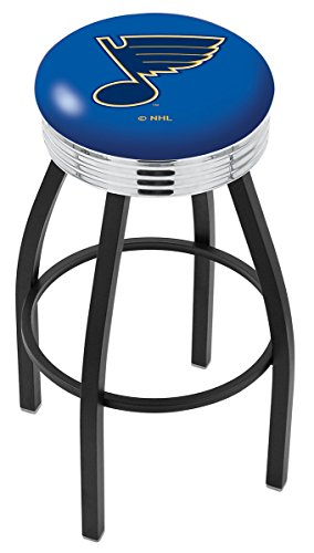 Holland Bar Stool NHL L8B3C St Louis Blues Swivel Counter Stool, 25