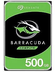 Seagate ST1000DM010 1 TB 3,5-tums Barracuda-hårddisk – silver BarraCuda 500GB SILVER