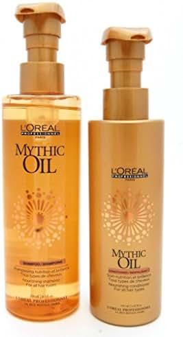 L'OREAL PROFESSIONAL MYTHIC OIL Shampoo 8.5oz and Conditioner 6.42oz
