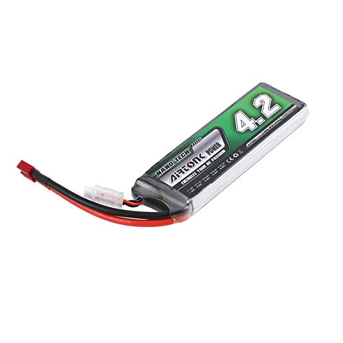 Airtonk Power 7.4V 4200mAh 30C 2s 1P Lipo Battery T Plug Rechargeable for RC Racing Drone Quadcopter Helicopter Car Boat
