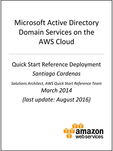 Active Directory DS on AWS (AWS Quick Start) (Windows Active Directory)