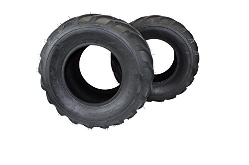 (Set of 2) 26x12.00-12 ATV/UTV, Lawn & Garden, Lawn Tractor, Mower Tires 4 Ply ATW-041 by Antego