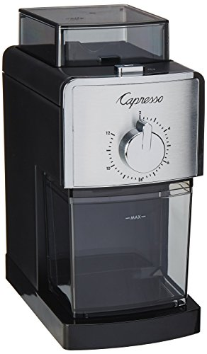 Capresso 591.05 Coffee Bean 16 Setting Burr Grinder