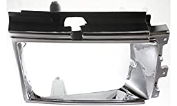 Evan-Fischer EVA18972010015 Headlight Door for Toyota 4Runner 84-86 LH Chrome Left Side Replaces Partslink# TO2512102