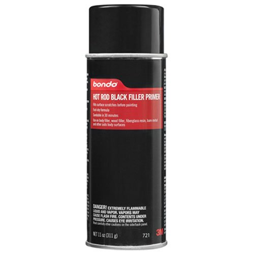 Bondo 721 Easy Finish Hot Rod Black Aerosol Primer - 11 oz.