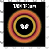 Butterfly Tackifire Drive Table Tennis Rubber Table Tennis Rubber - 2.1 mm - Red or Black - 1 Table Tennis Racket Rubber Sheet - Professional Table Tennis Rubber