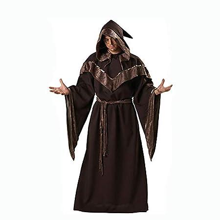 SUIZNS Halloween Monjas Sacerdote Duerme Bruja Mágica Falda Larga ...