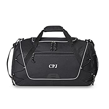 Personalized Sports Duffel Bag – Monogrammed Waterproof Gym, Fitness, Workout, Travel, Camping Bags for Men Women