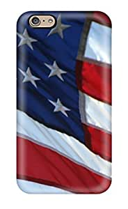 Durable Defender Case For Iphone 6 Tpu Cover(flag)