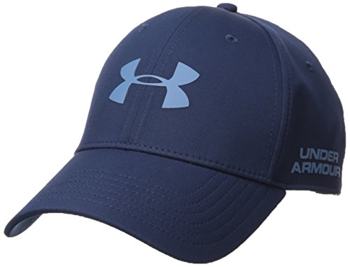 Under Armour Men's Golf Headline 2.0 Cap, Academy (408)/Bass Blue, Medium/Large