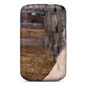 High-quality Durability Case For Galaxy S3(golden Retriever)