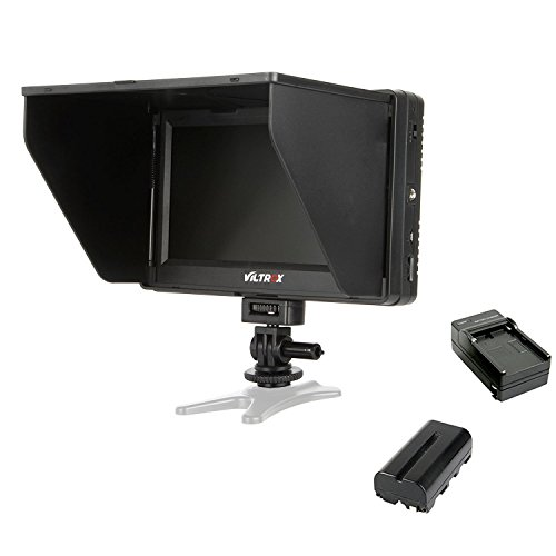 Lcd Monitor Video Input (VILTROX DC-70 II 4K HDMI Field Monitor 7