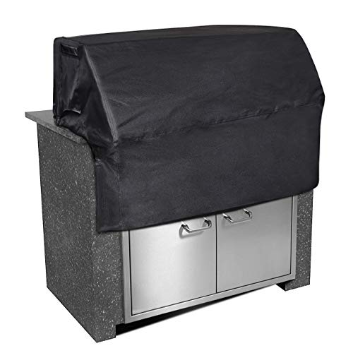 "iCOVER 32 inch Built-in Grill Cover Heavy Duty Waterproof Barbeque Grill Cover with Air Vent-32""(W) × 26""(D) × 24""(H)"