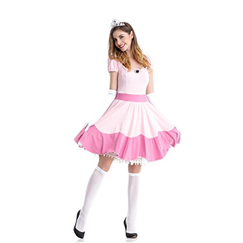 Women's Pink Princess Costume]()