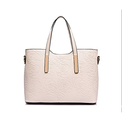 Hnyeve Hb1200043c3 Spring Pu Leather Women's Handbag Square Cross-section Boston Bag