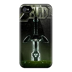For Luoxunmobile333 Iphone Protective Cases, High Quality Iphone 4/4S The Legend Of Zelda Skin Cases Covers