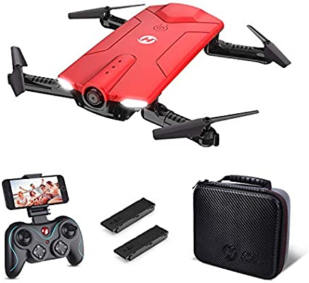 Holy Stone Hs160 Drone With Camera Rc Quadcopter Foldable Drone With Wifi Fpv 720p Camera Live