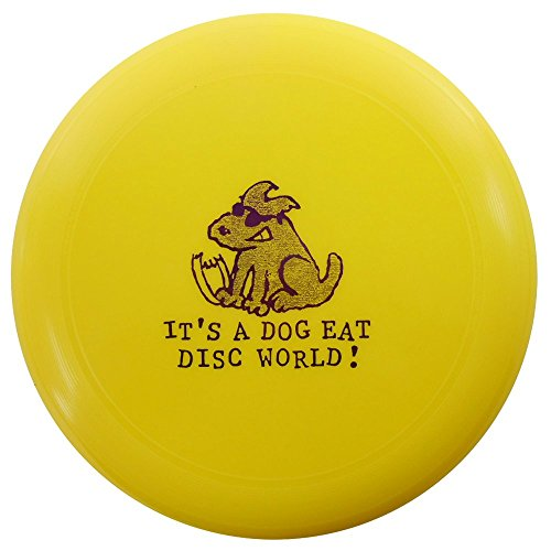 Wham-O UMAX Dog Eat Disc World 175g Ultimate Frisbee Disc [Colors May Vary]