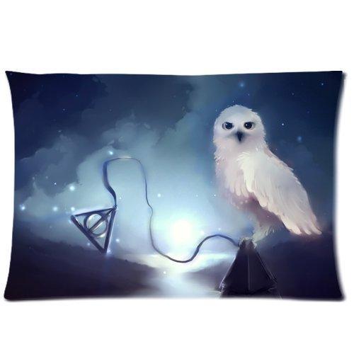Custom Stylish Harry Potter Hufflepuff Logo Pillowcase Standard Size Design Cotton 50% & Polyester 50% Pillow Case 16