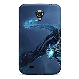 Archerfashion2000 Scratch-free Phone Cases For Galaxy S4- Retail Packaging - World Of Warcraft Dragon