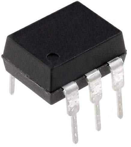 Triac amp; SCR Output Optocouplers 800VDRM IFT=5mA 6 Pin Optocoupler Pack of 100 (MOC3083)