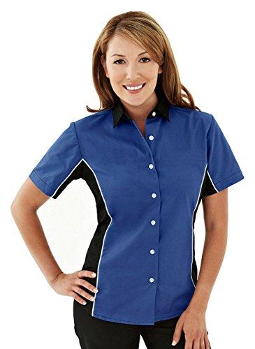 (Tri-Mountain TMR Racing Women's Racewear Easy Care Woven Shirt - 926 )