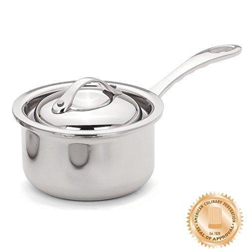 Browne 5724030 Thermalloy Tri-Ply 10 Oz. Mini Sauce Pan