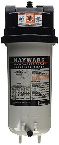 - Hayward C225 StarClear Micro Cartridge Pool Filter, 25 Square Foot