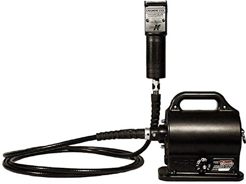 Black Double K Clippers, Variable Speed, Portable, 20 Ft Cable ()