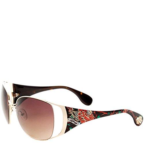 Ed Hardy Mum Lola Sunglasses - Tortoise
