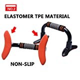 2pcs push up elite standsno wobble abs engineering plastic1000lb up comfortable pair pushup bar handle perfect exercise fitness strength training equipment portable pus for man women workout gym