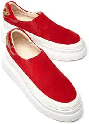 58f3eb2c6aa09 Shopping Platform - Multi or Red - Loafers & Slip-Ons - Shoes ...