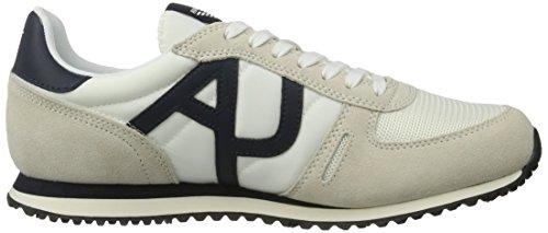 I Jeans Armani Uomini 9350277p420 Basso-alto, Verde, 44 Eu Bianco (bianco)