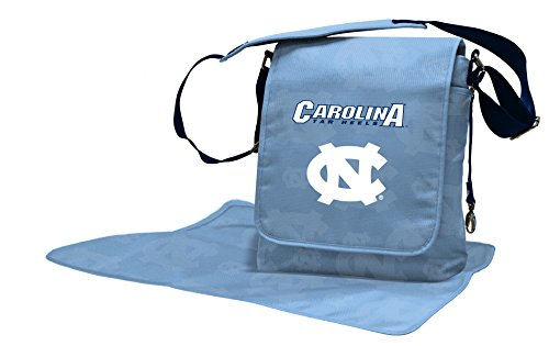 (Lil Fan Diaper Messenger Bag, NCAA College North Carolina Tar Heels)