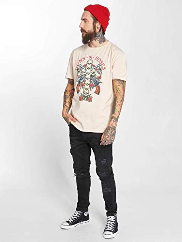 Roses Skull Guns N Hauts Amplified shirt Homme Cross t wIYqg0