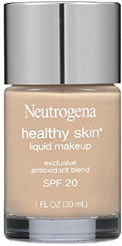 Neutrogena Healthy Skin Liquid Makeup Foundation, Broad Spectrum Spf 20, 30 Buff, 1 Oz. (Pack of 2)