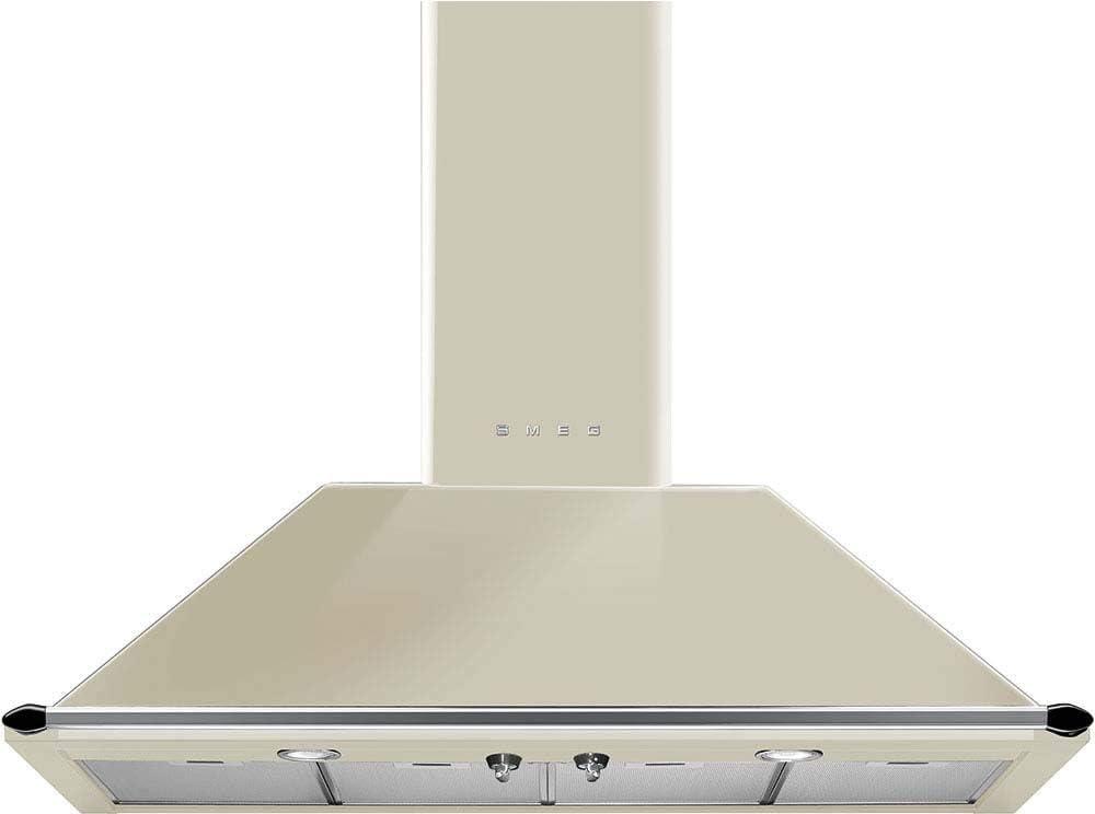 Smeg KT110PE - Campana (Canalizado, 820 m³/h, A, Montado en pared, LED, 225 Lux)