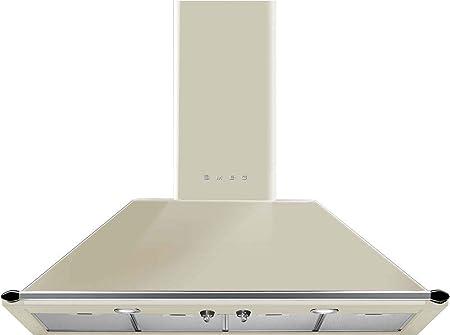 Smeg KT110PE - Campana (Canalizado, 820 m³/h, A, Montado en pared, LED, 225 Lux): Amazon.es: Hogar