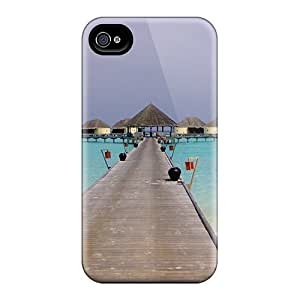 Durable Case For The Iphone 4/4s- Eco-friendly Retail Packaging(walk This Way)