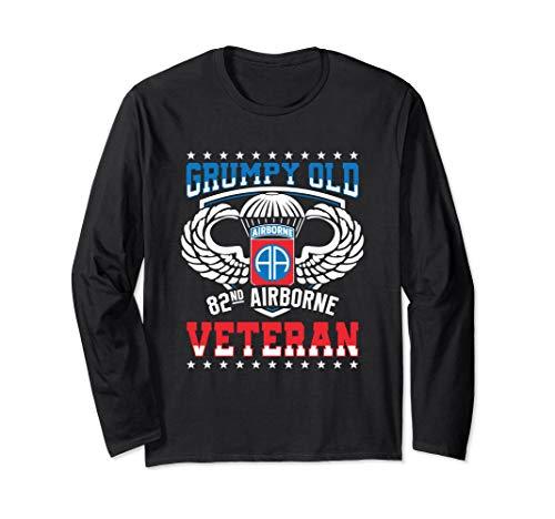 Grumpy Old 82nd Airborne Division Veteran T Shirt