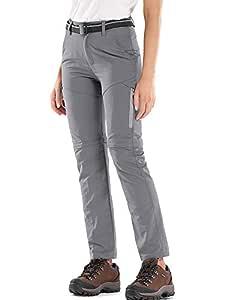 Jessie Kidden Mujere Pantalones de Secado rápido