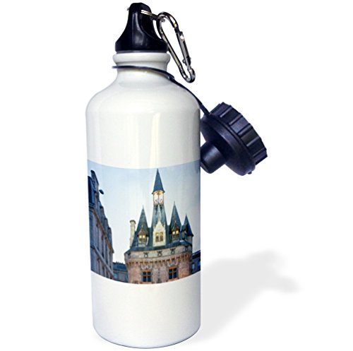 France Porte - Danita Delimont - France - The Porte Cailhau monument at Fornovo, Italy. - 21 oz Sports Water Bottle (wb_227310_1)
